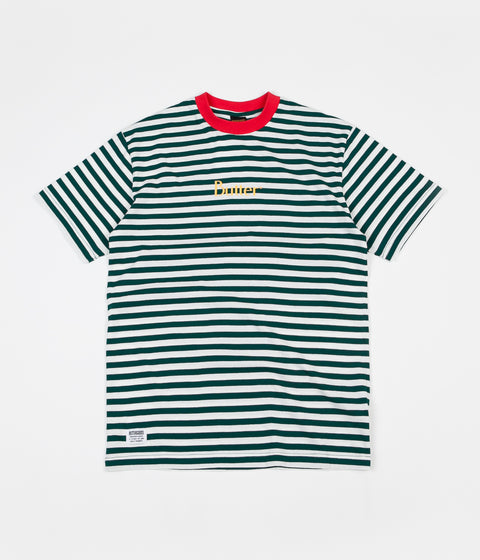 d8a089fb2e1 Butter Goods Classic Stripe T-Shirt - Forest