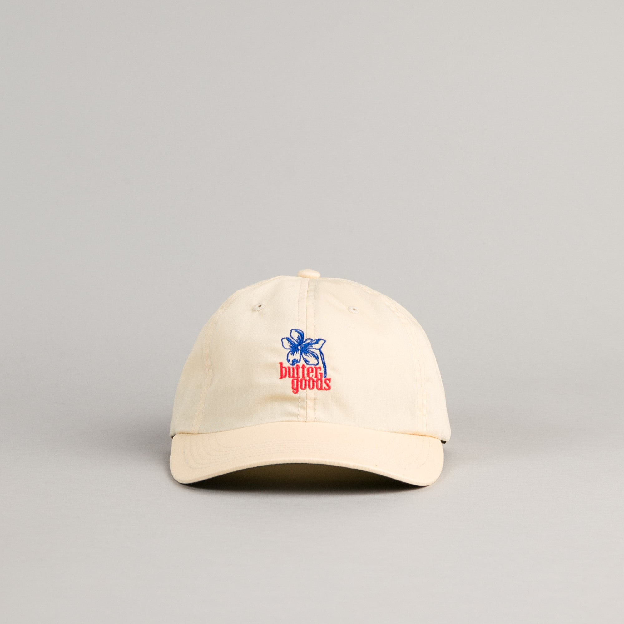 Butter Goods Floral 6 Panel Cap - Khaki