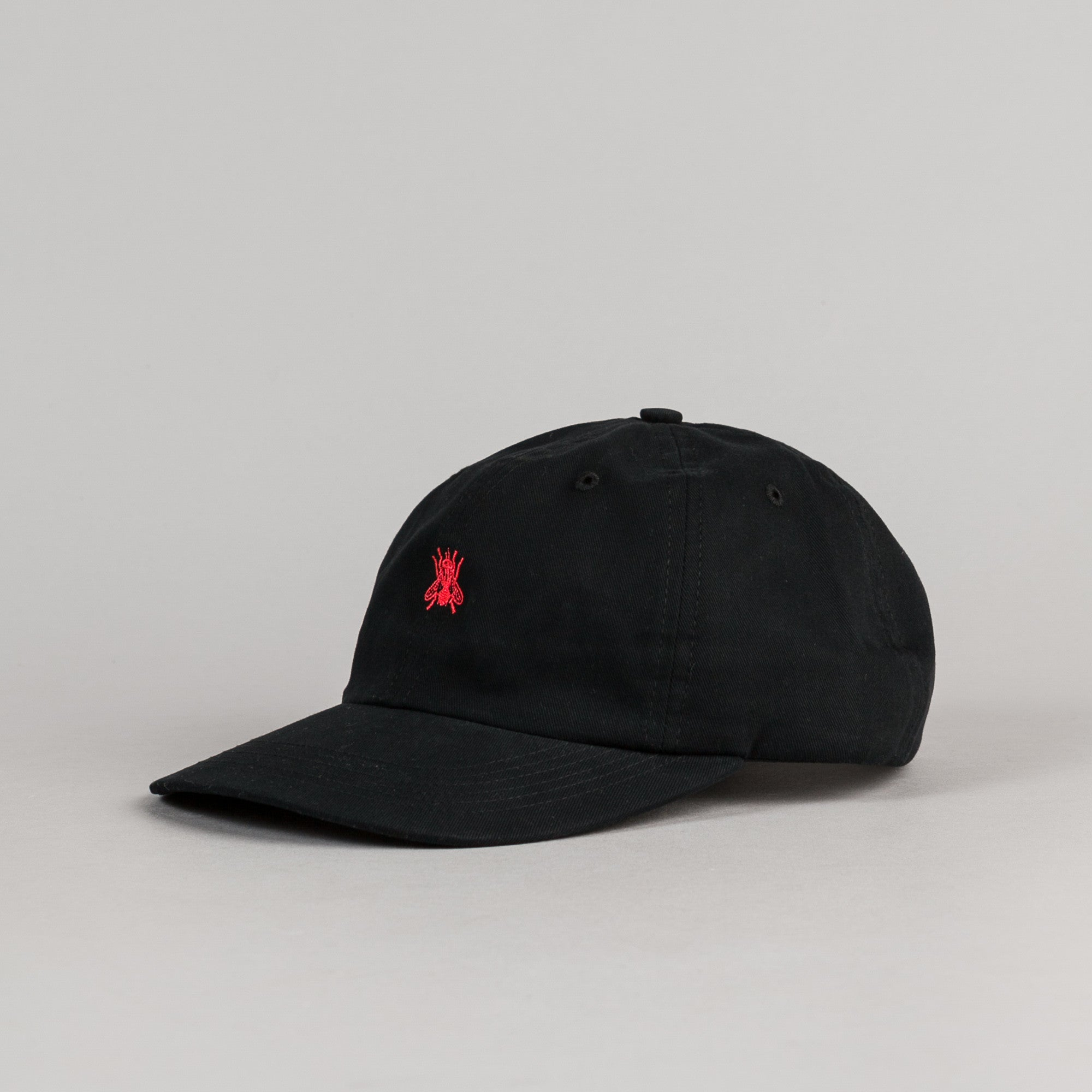 Butter Goods Fly 6 Panel Cap - Black