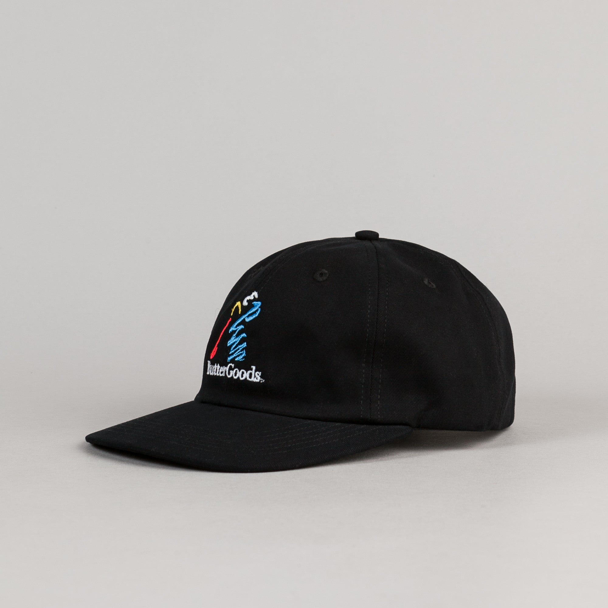 Butter Goods Golf 6 Panel Cap - Black