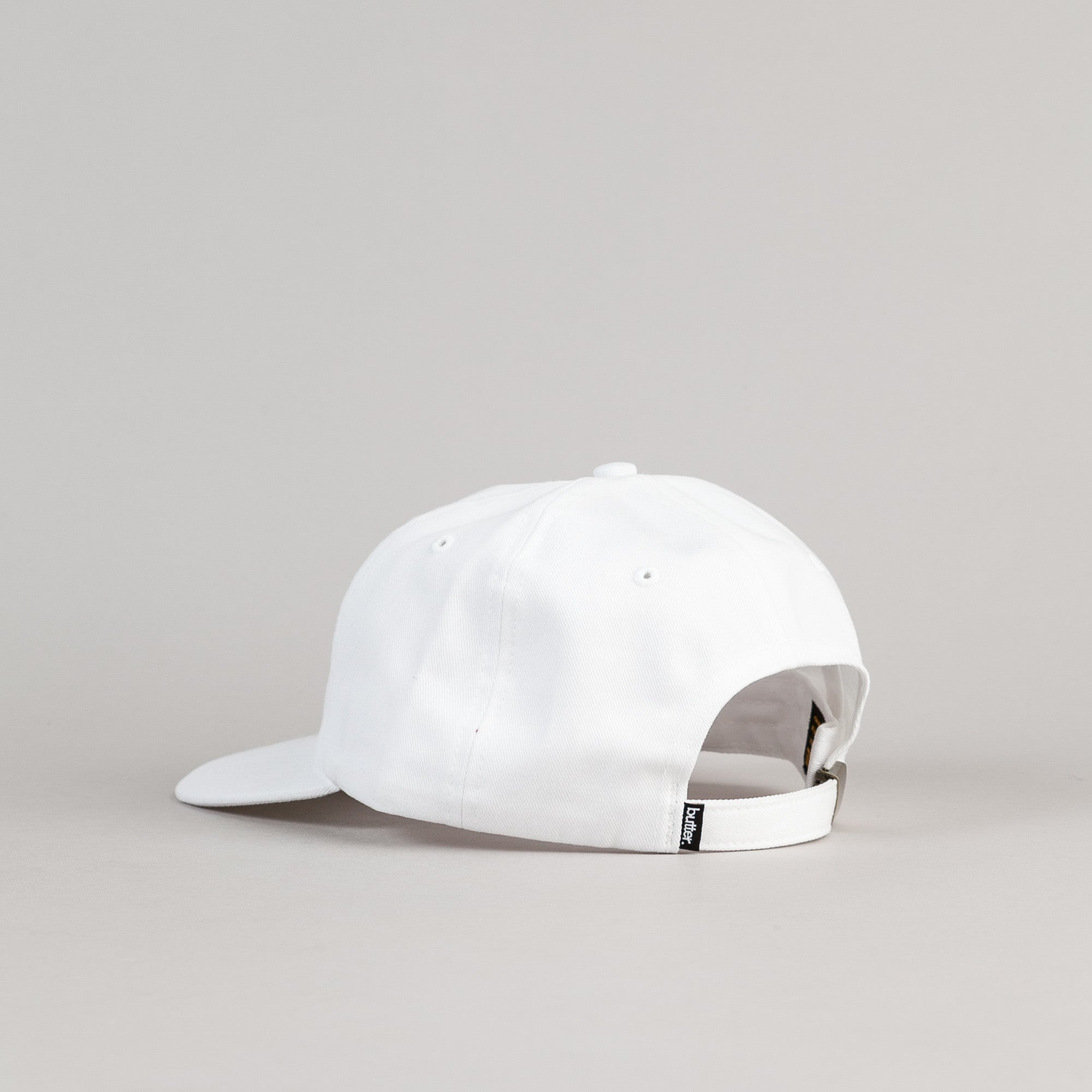 Butter Goods Golf 6 Panel Cap - White