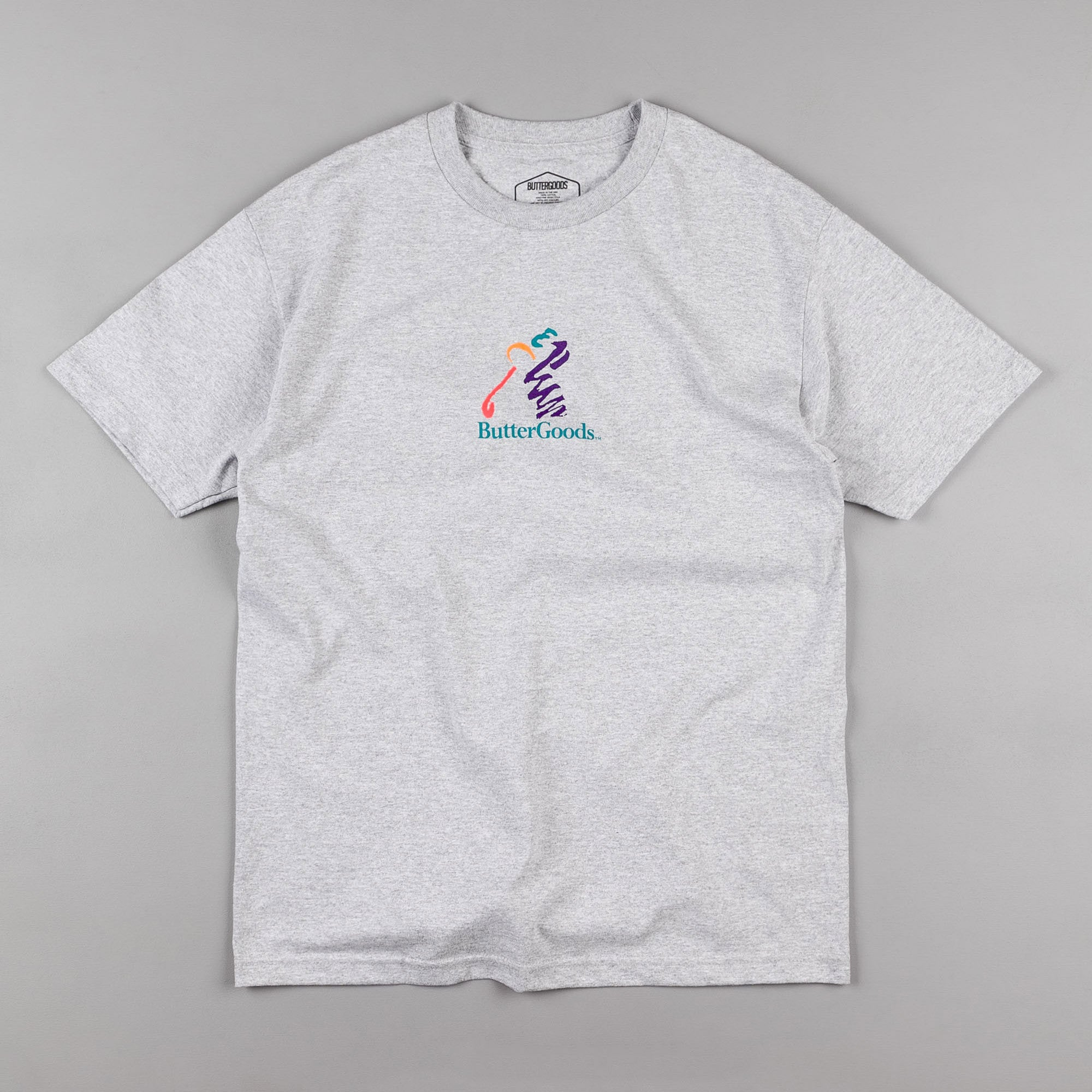 Butter Goods Golf T-Shirt - Heather Grey