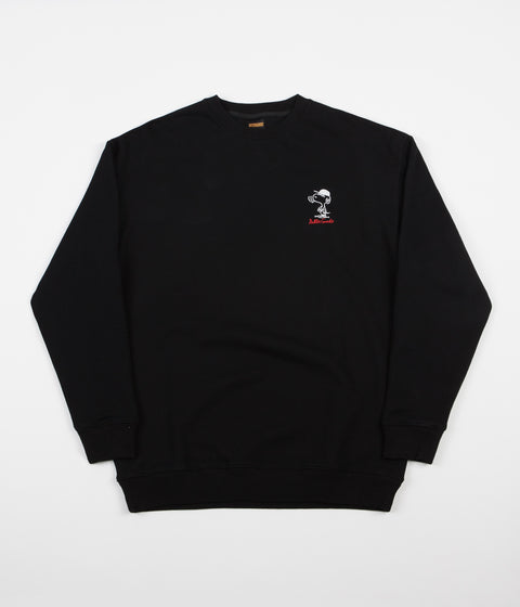 Butter Goods Gore Crewneck Sweatshirt - Black