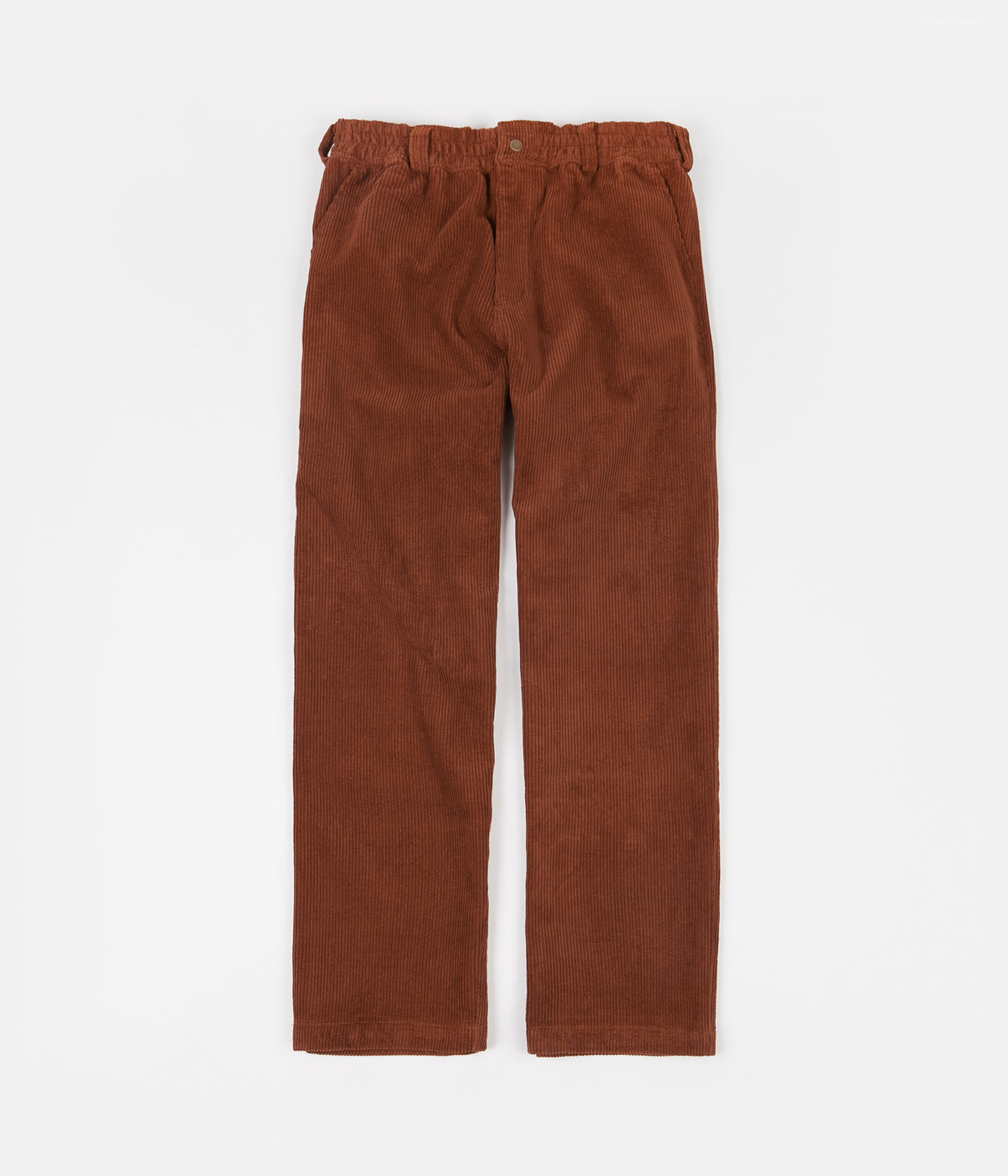 Butter Goods High Wale Corduroy Pants - Rust
