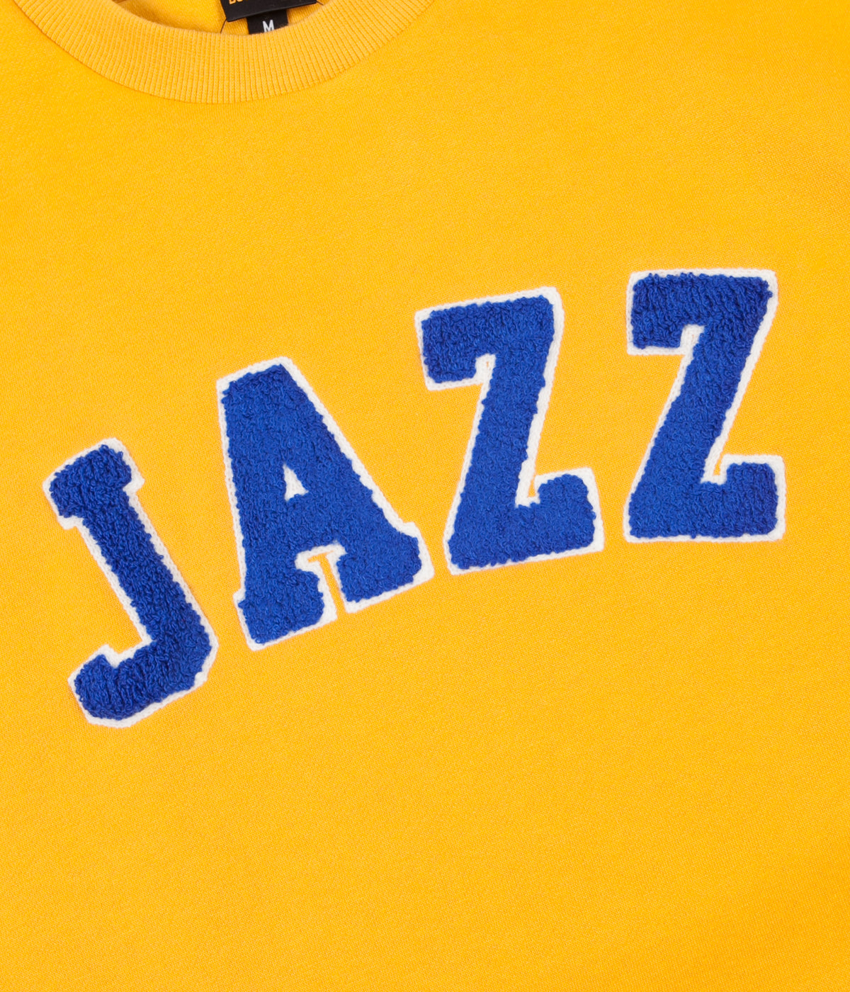 Butter Goods Jazz Applique Crewneck Sweatshirt - Yellow