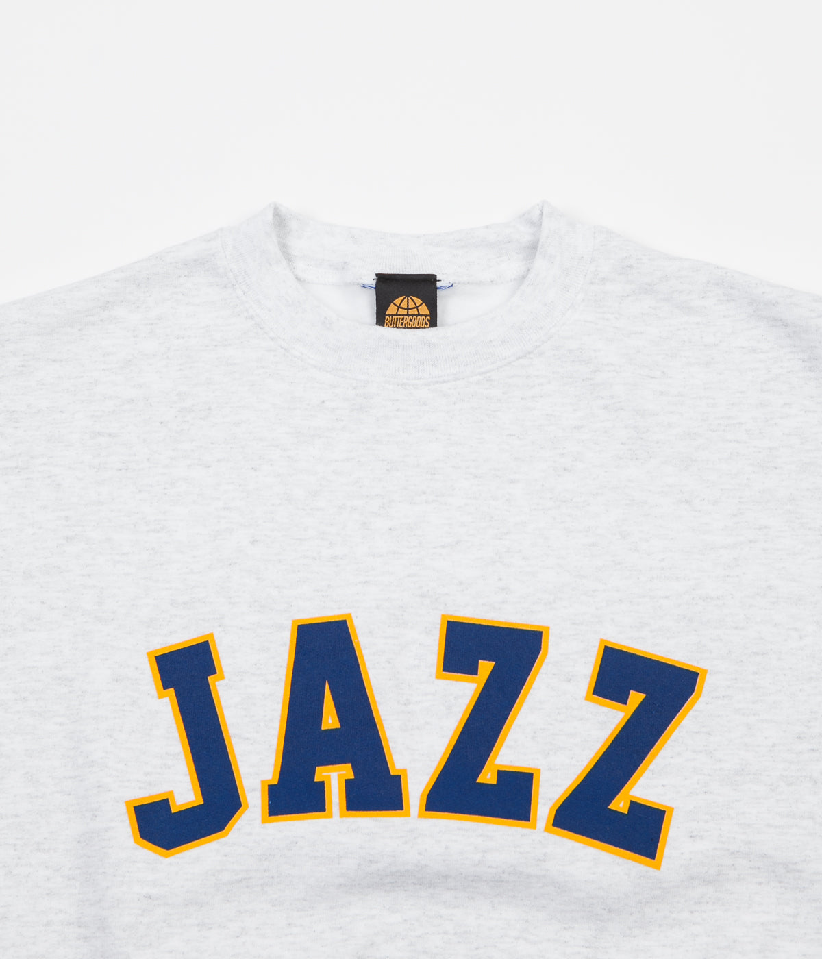 Butter Goods Jazz Champion Crewneck Sweatshirt - Heather Grey