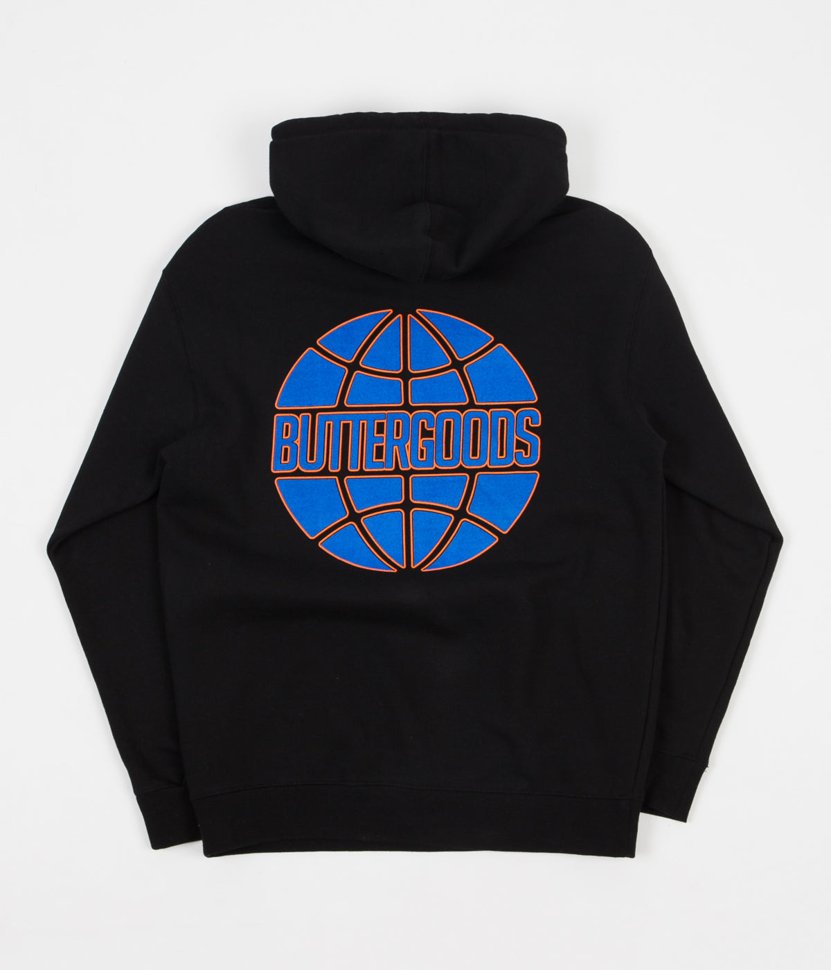 Butter Goods Keyline Worldwide Logo Hoodie - Black
