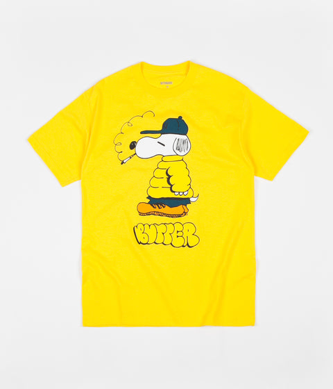 09cc653529f Butter Goods Lo Goose T-Shirt - Yellow