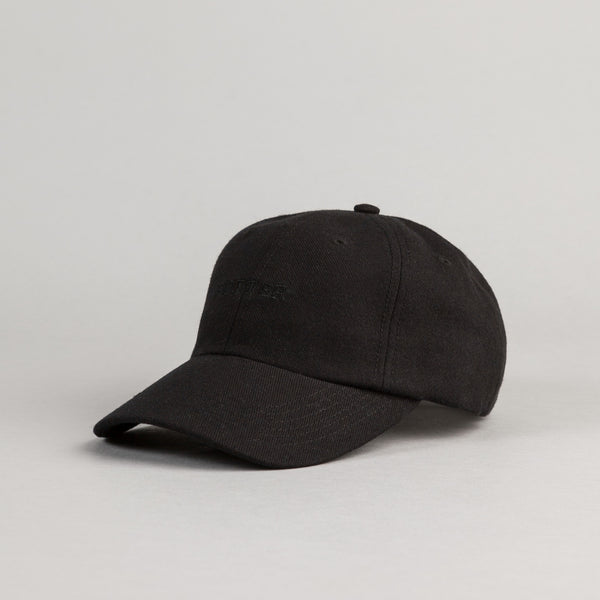 Butter Goods Milan Tonal 6 Panel Cap - Black