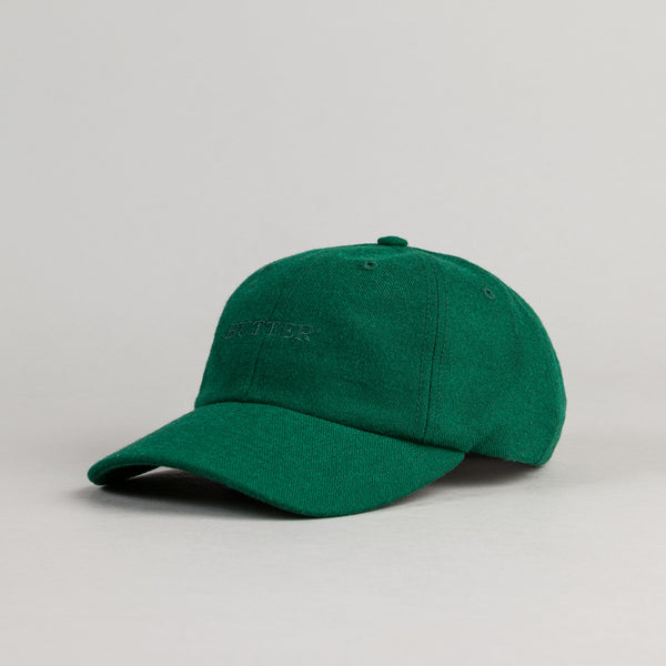 Butter Goods Milan Tonal 6 Panel Cap - Forest