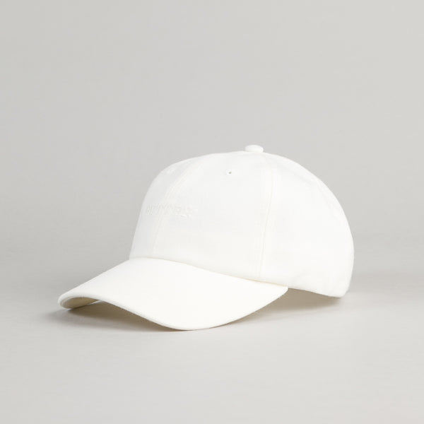 Butter Goods Milan Tonal 6 Panel Cap - White