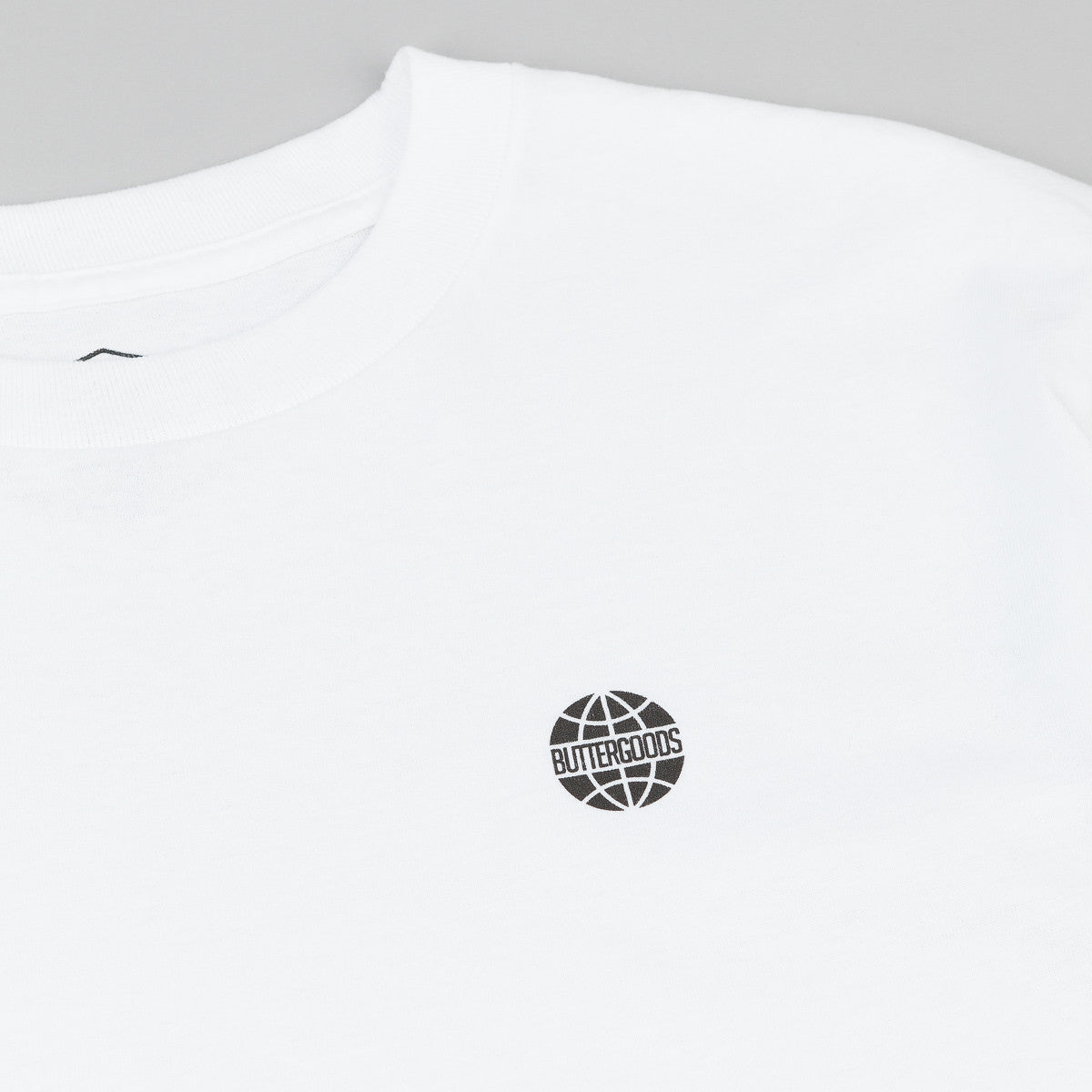 Butter Goods Minimal World Wide T-Shirt - White