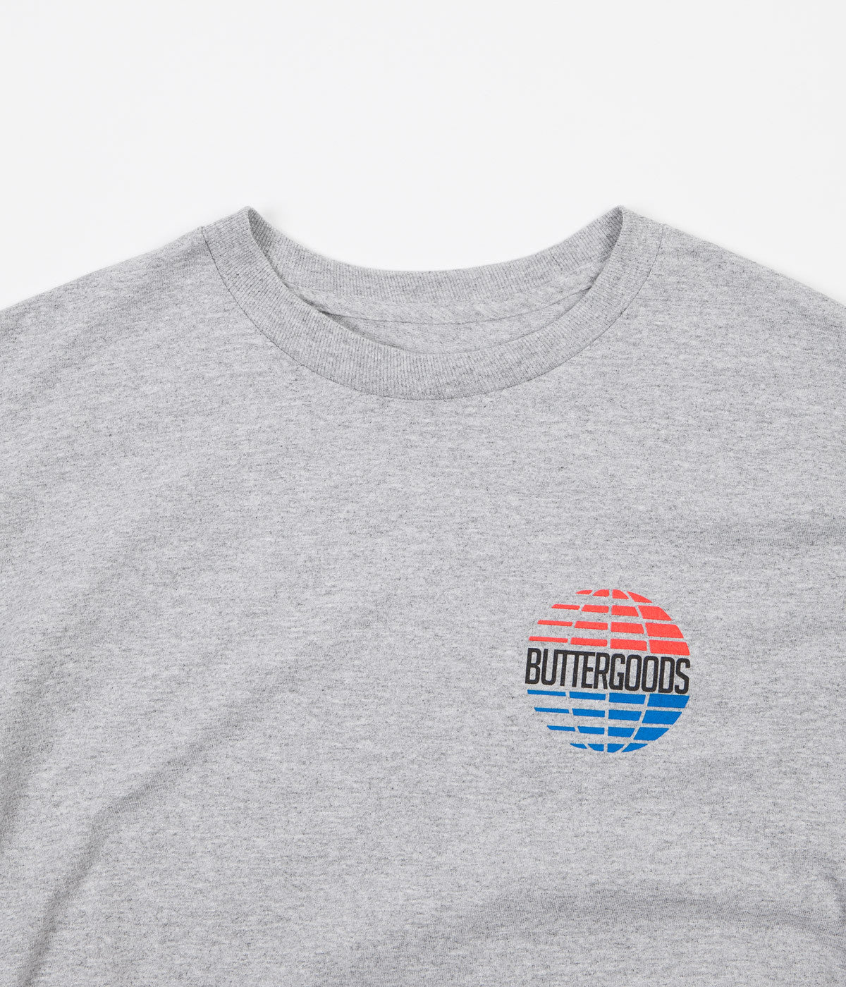 Butter Goods Multi National Logo T-Shirt - Heather