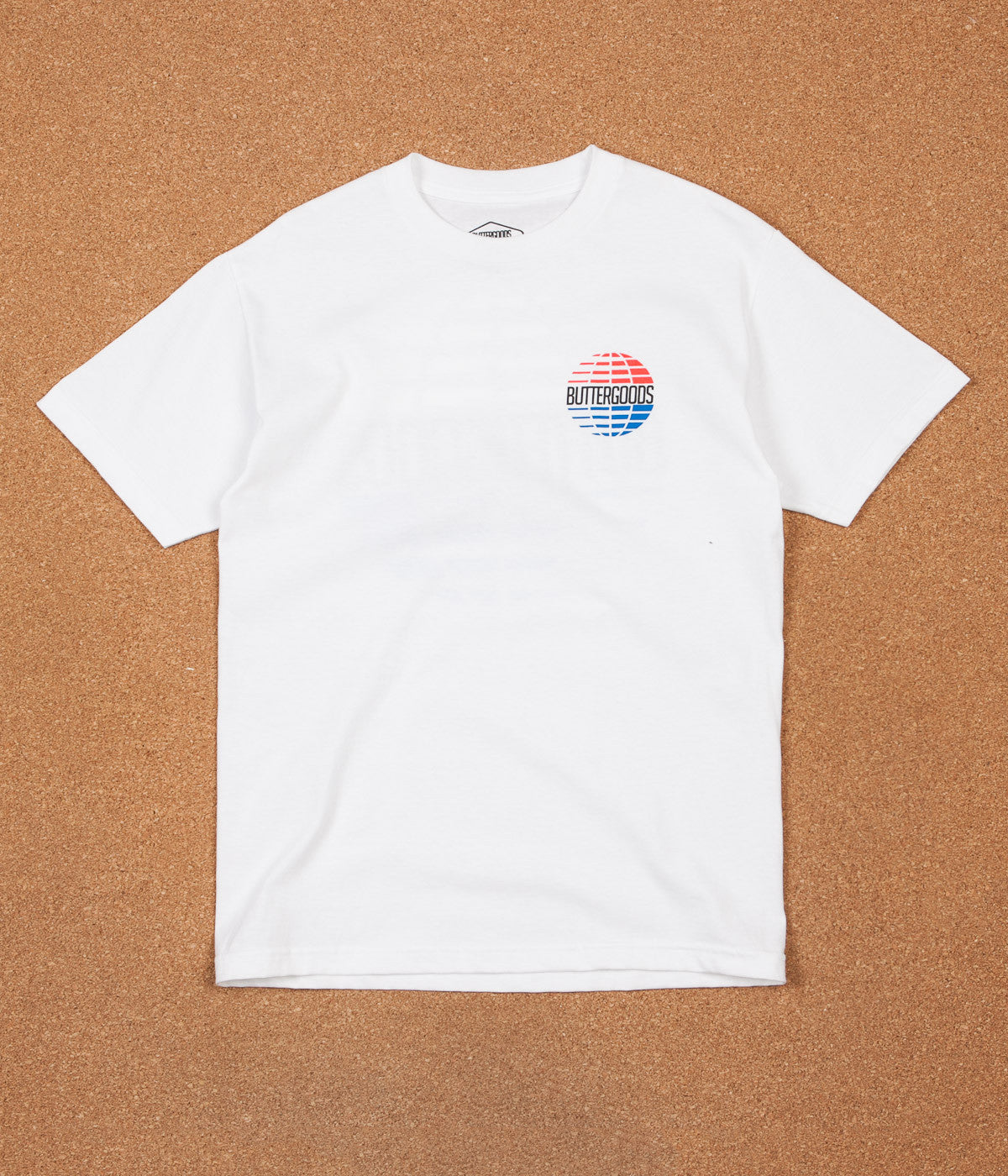 Butter Goods Multi National Logo T-Shirt - White