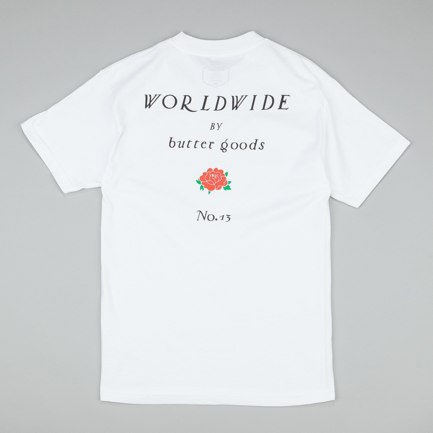 Butter Goods No. 13 T-Shirt - White