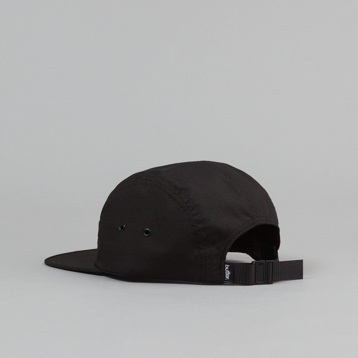 Butter Goods Original Logo 5 Panel Cap - Black