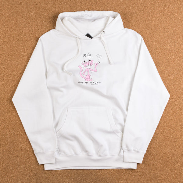 Butter Goods Panther Hooded Sweatshirt - White