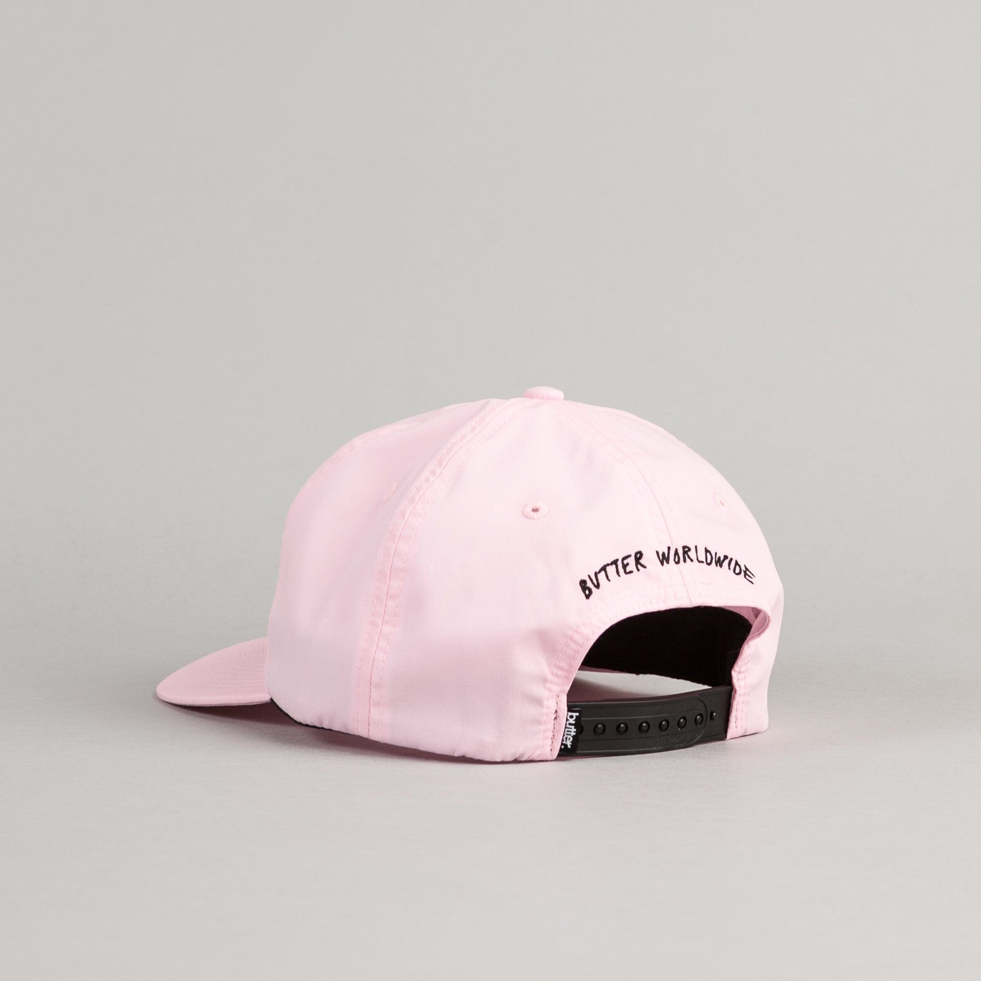 Butter Goods Panther Snapback Cap - Pink
