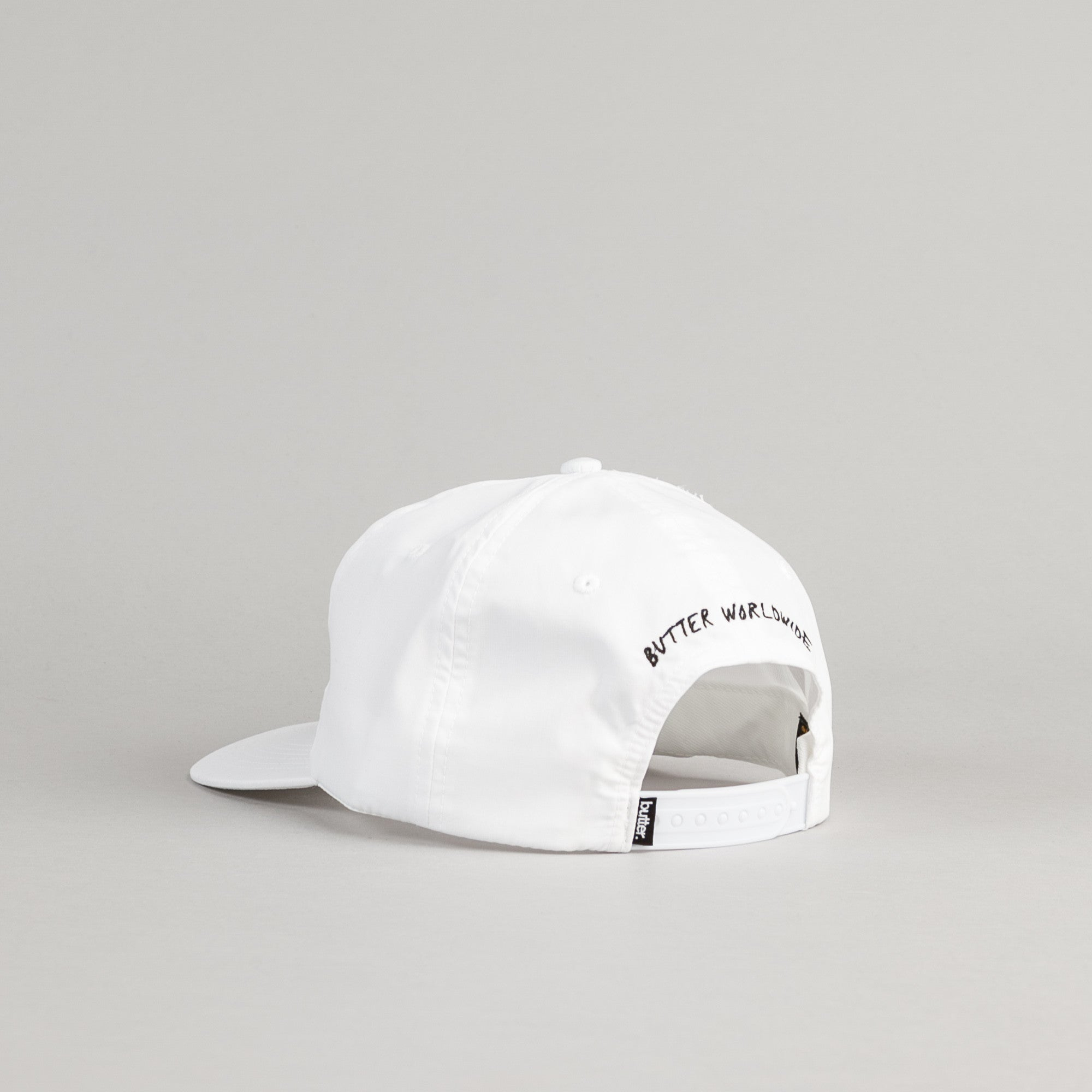 Butter Goods Panther Snapback Cap - White