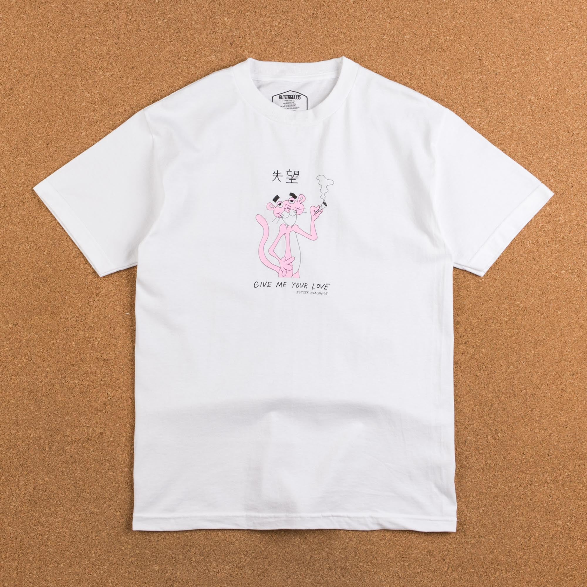 Butter Goods Panther T-Shirt - White