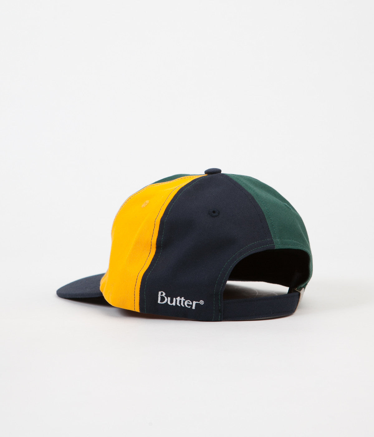 Butter Goods Patchwork 6 Panel Cap - Navy