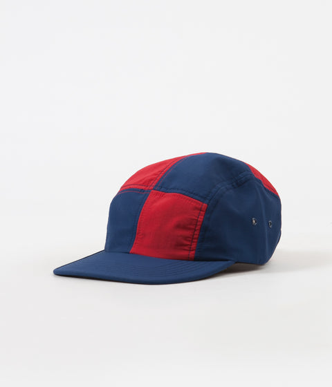 d41b68db6b6 Butter Goods Patchwork Camp Cap - Dark Navy   Red