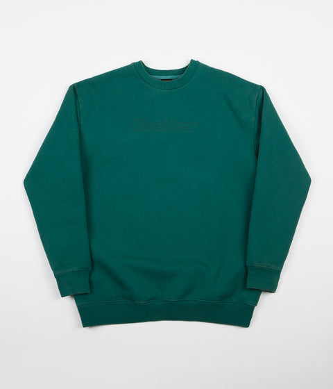Butter Goods Pigment Dye Crewneck Sweatshirt - Forest Green