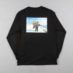 Butter Goods Praxis 84 Long Sleeve T-Shirt - Black