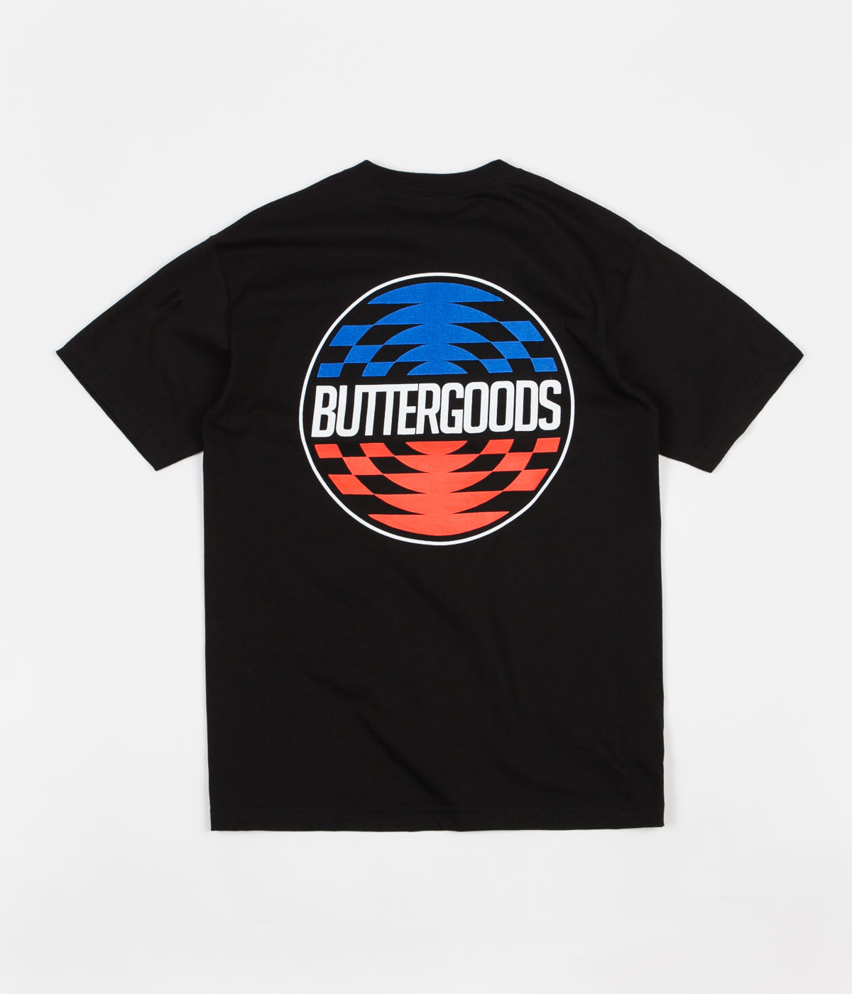 Butter Goods Press Logo T-Shirt - Black