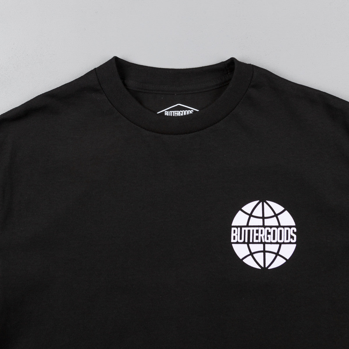 Butter Goods Quartet Worldwide T-Shirt - Black