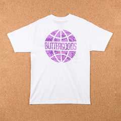 Butter Goods Quartet Worldwide T-Shirt - White