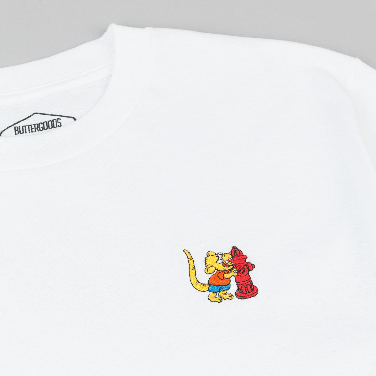 Butter Goods Rat Boy T-Shirt - White