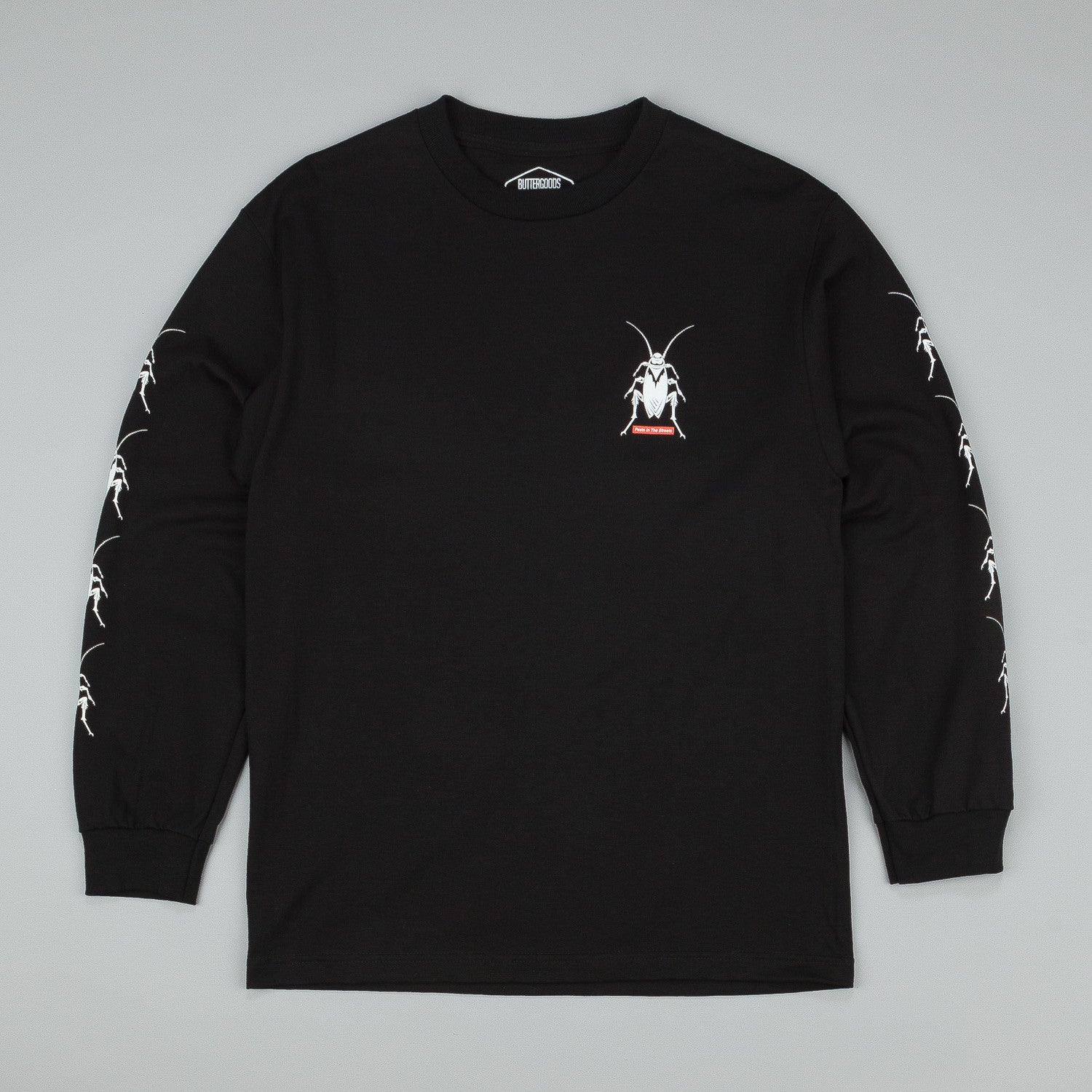 Butter Goods Roach Long Sleeve T-Shirt - Black