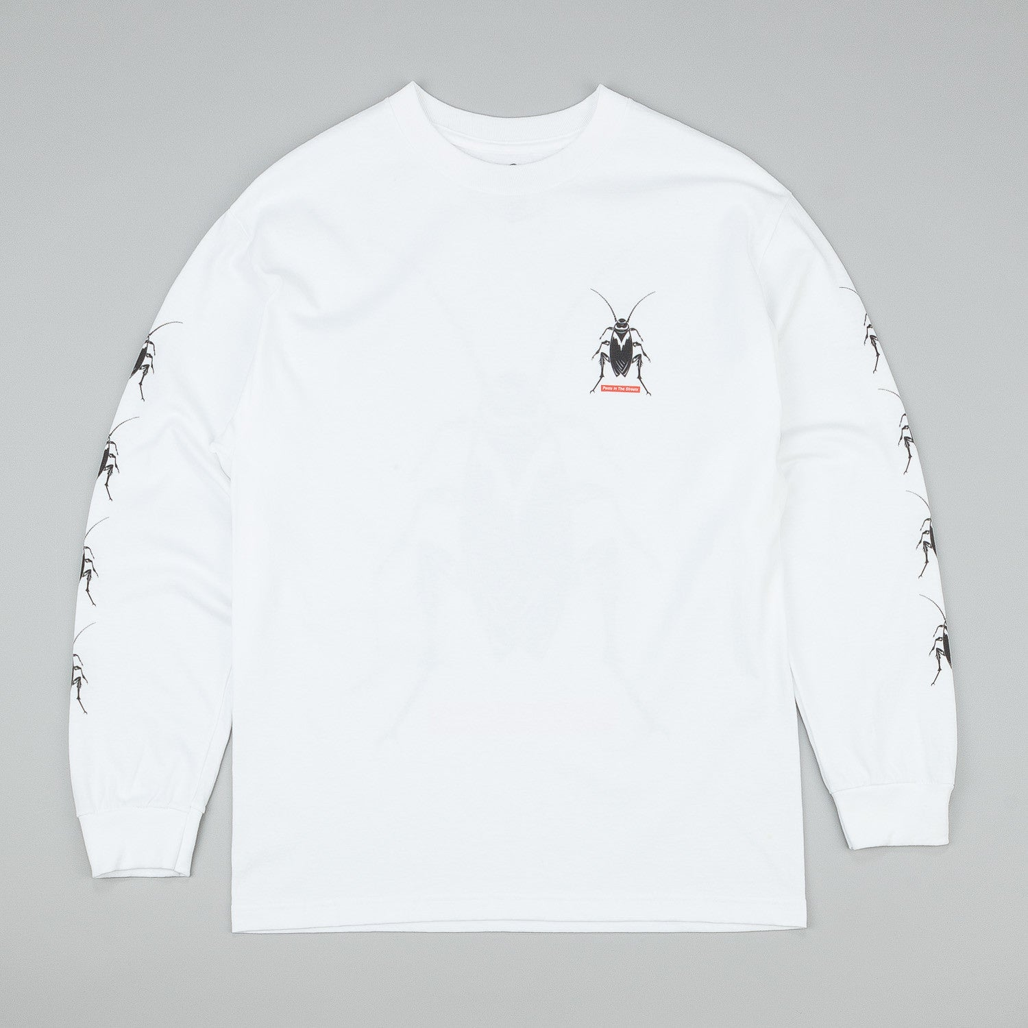 Butter Goods Roach Long Sleeve T-Shirt - White