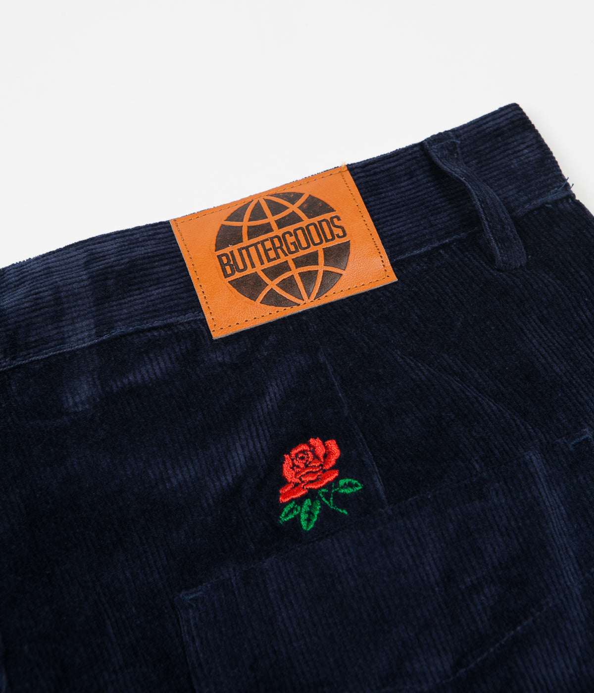 Butter Goods Rose Corduroy Trousers - Navy