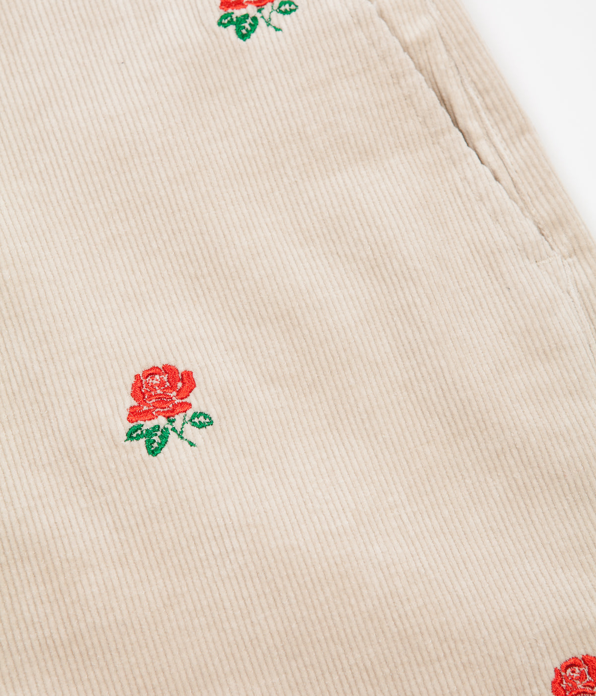 Butter Goods Rose Corduroy Trousers - Off White