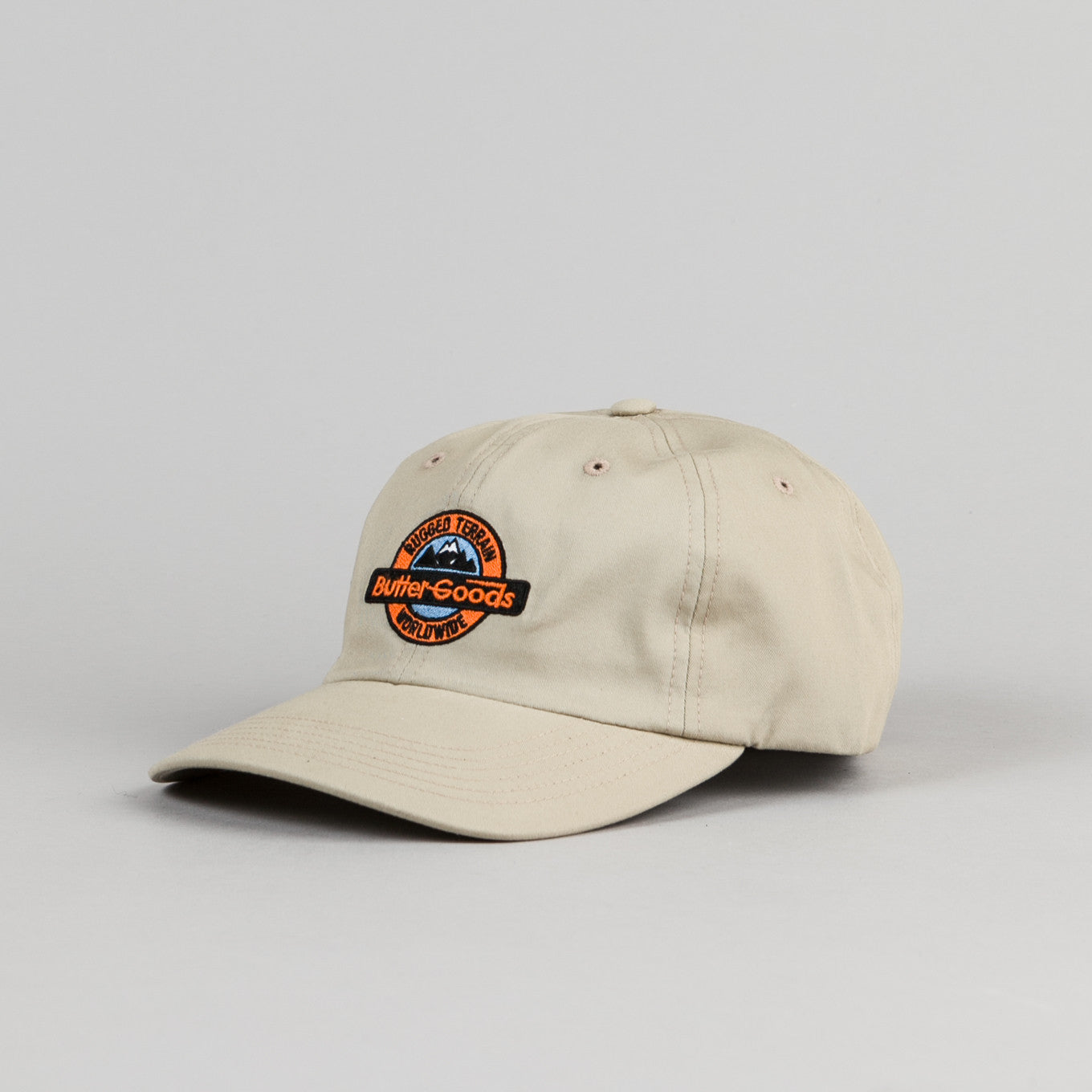Butter Goods Rugged Terrain Cap - Khaki