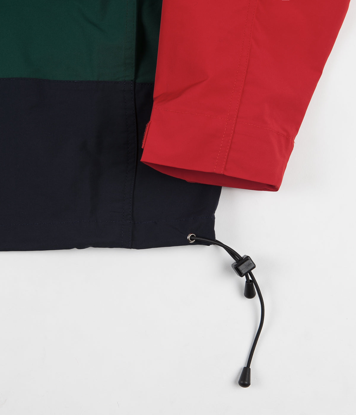 Butter Goods Santosuosso Jacket - Red / Navy / Green