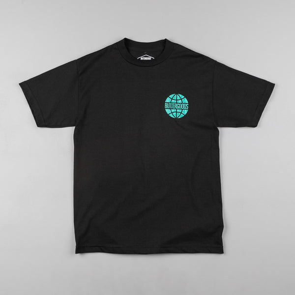 Butter Goods Scale Worldwide T-Shirt - Black