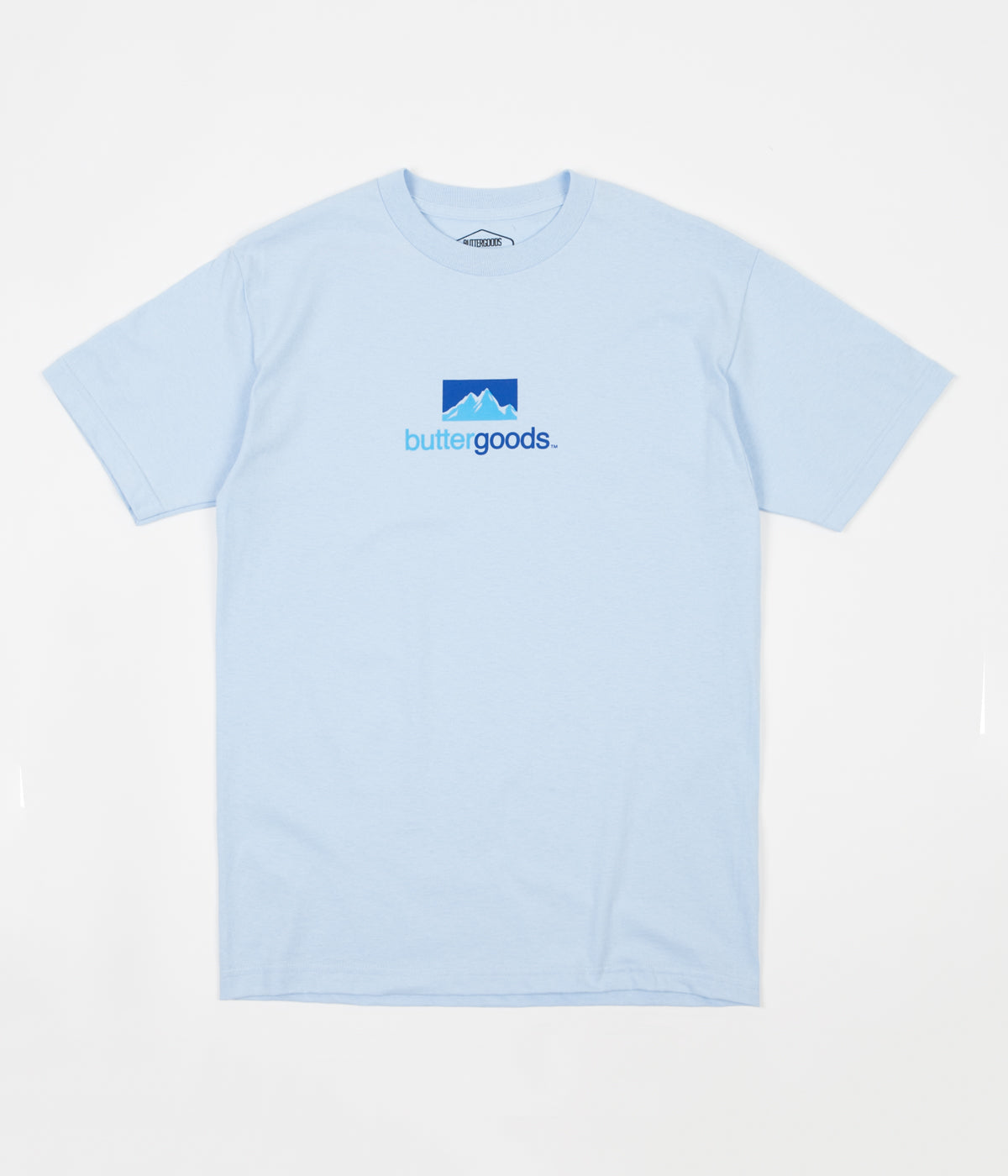 Butter Goods Search T-Shirt - Powder Blue