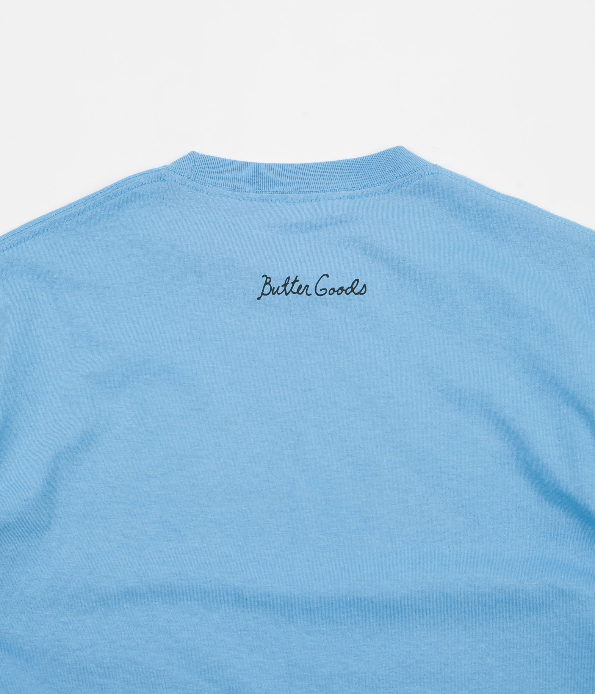Butter Goods That's All Folks T-Shirt - Carolina Blue