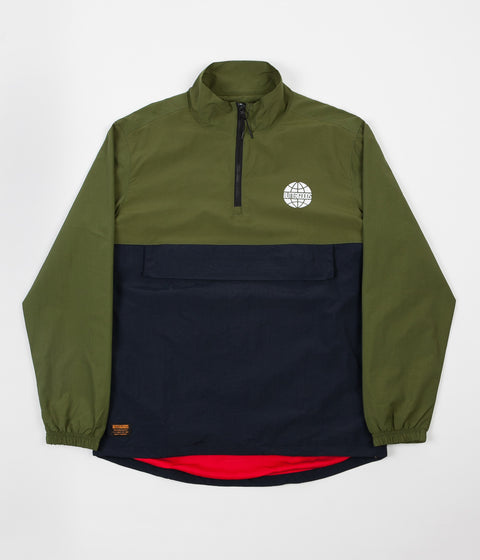 Butter Goods Track Jacket - Forest / Navy