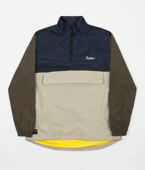 Butter Goods Track Jacket - Navy / Forest / Khaki