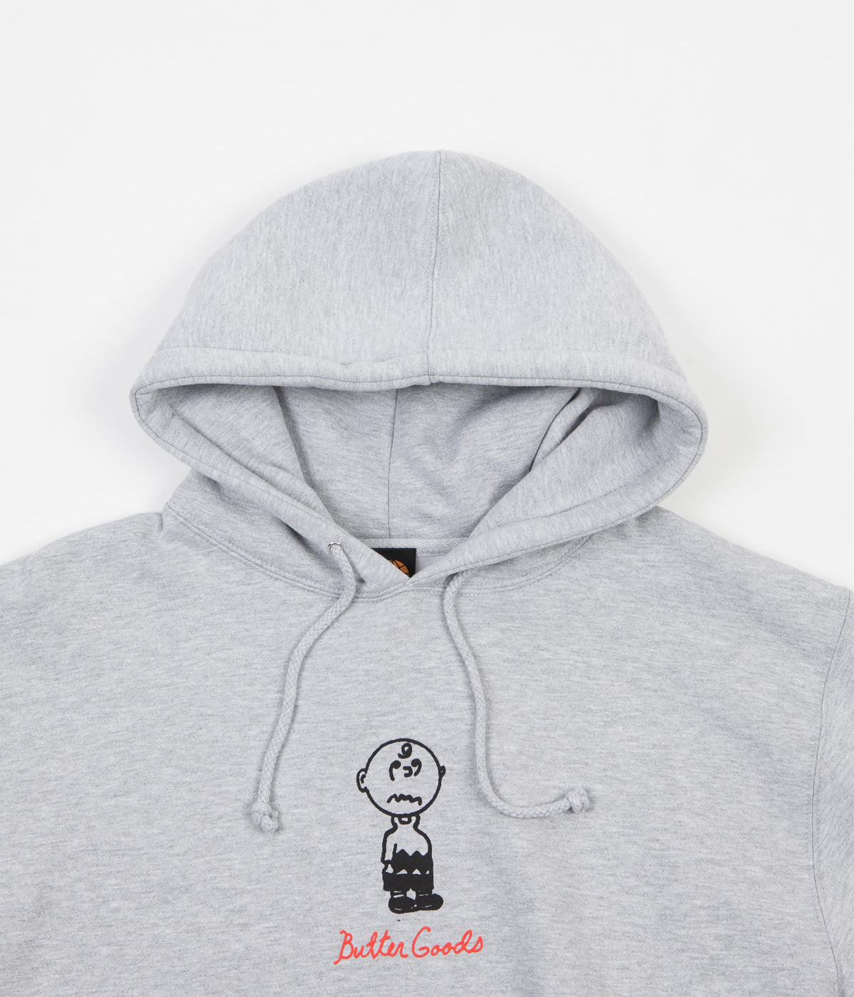 Butter Goods Trouble In Mind Hoodie - Heather Grey