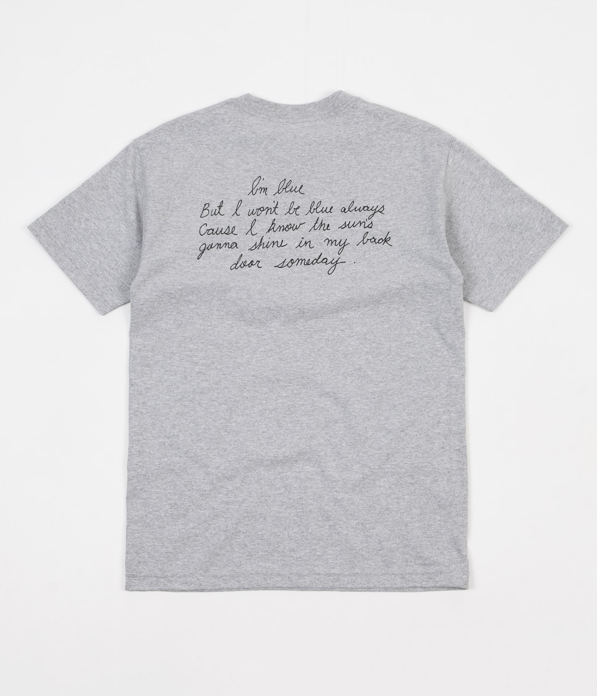 Butter Goods Trouble In Mind T-Shirt - Heather Grey