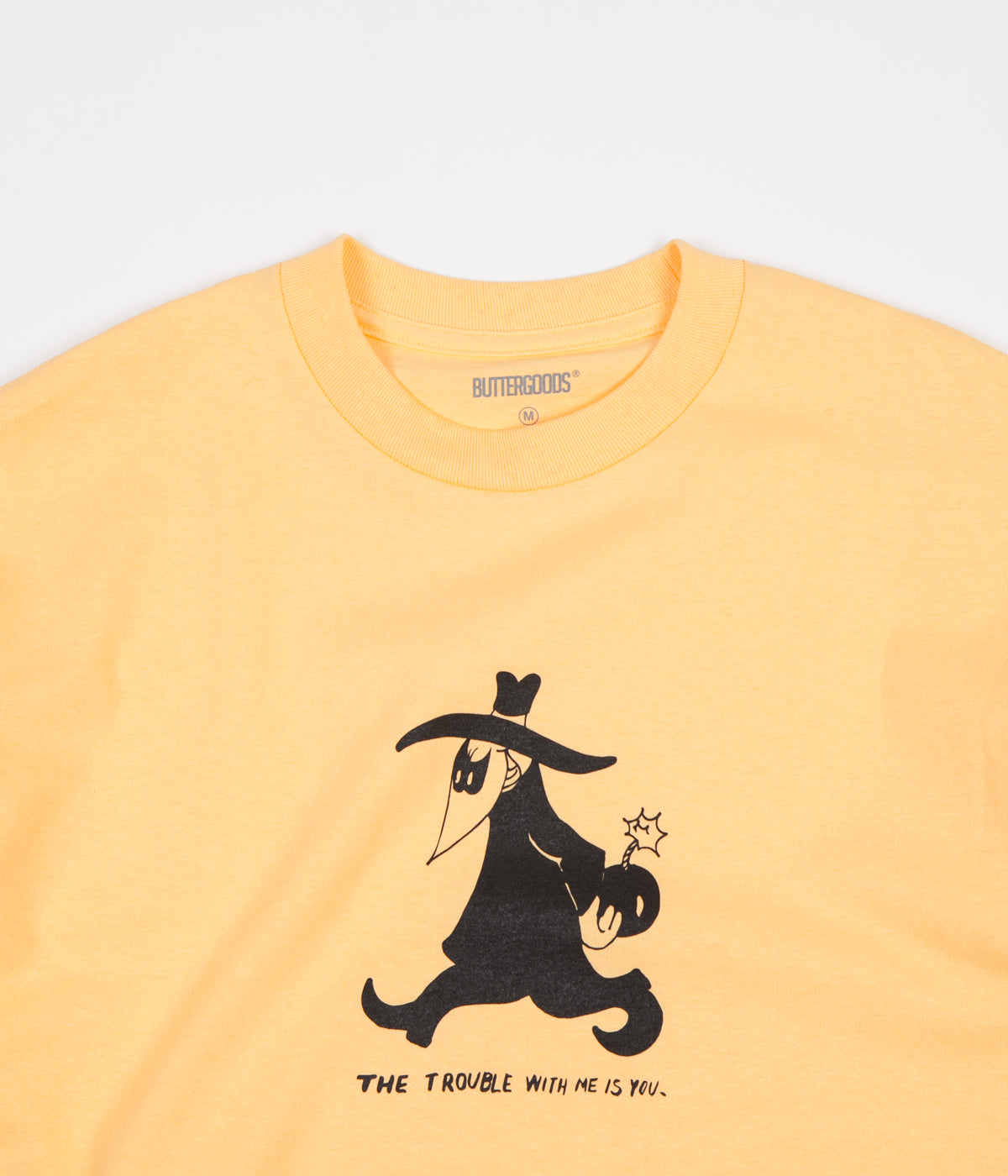Butter Goods Trouble T-Shirt - Squash