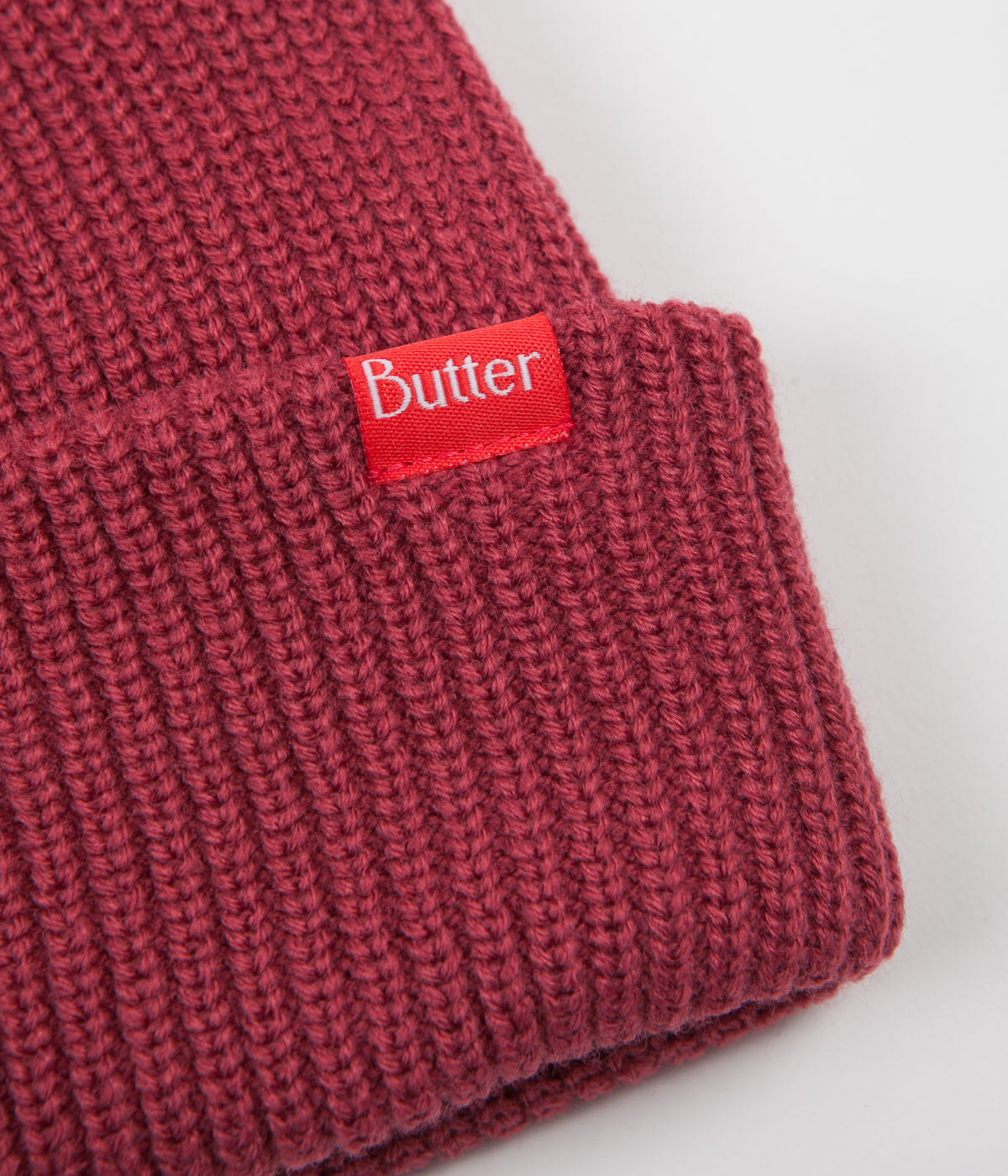 Butter Goods Wharfie Beanie - Berry
