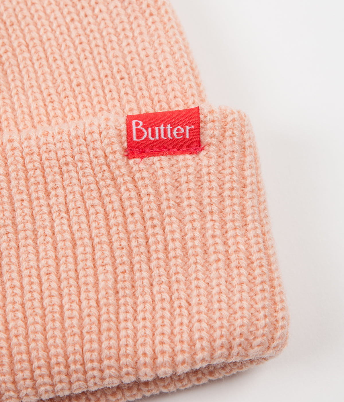 Butter Goods Wharfie Beanie - Peach
