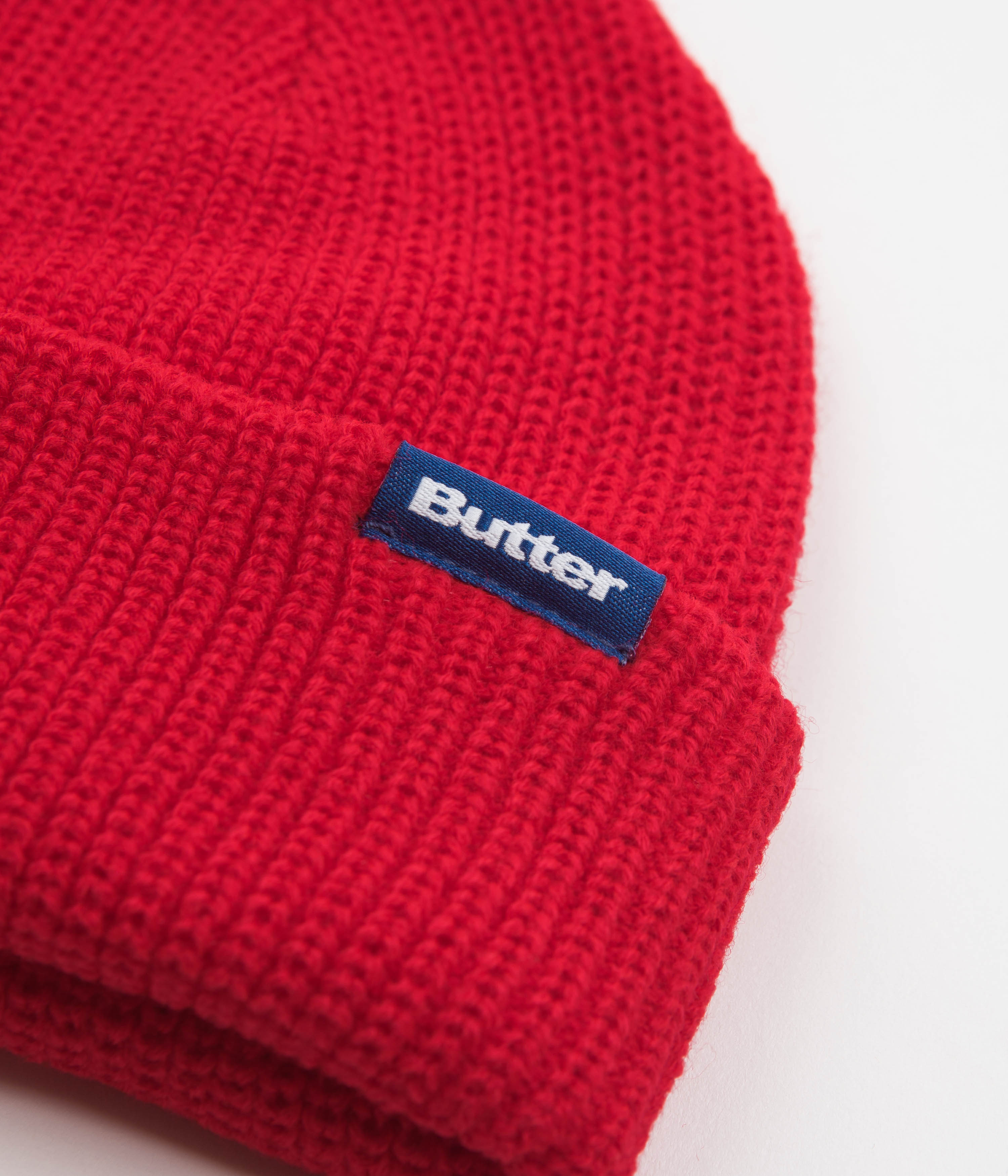 Butter Goods Wharfie Beanie - Red