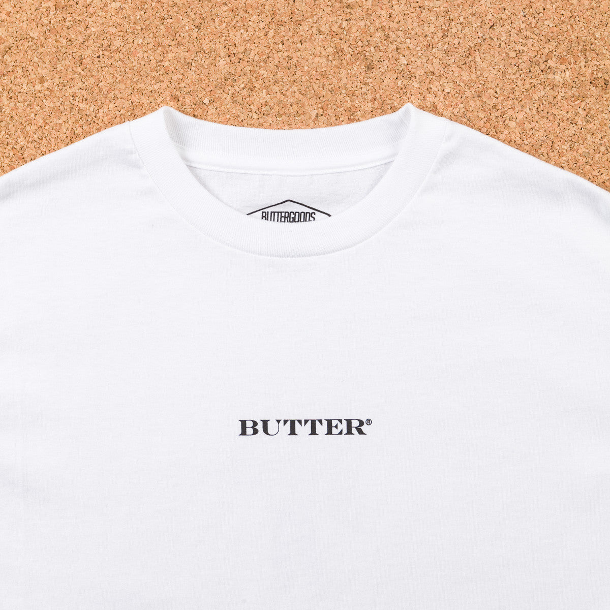 Butter Goods Praxis 84 Long Sleeve T-Shirt - White